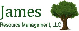 Timberland and Farmland by James Resource Management Logo